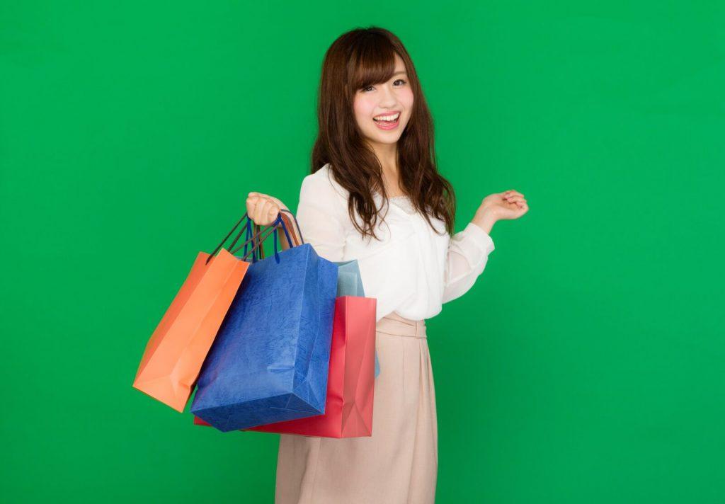 ショッピング女子